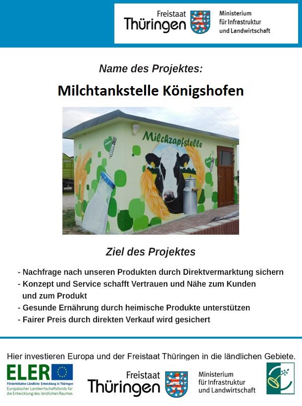 Förderung Milchzapfstelle